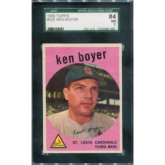 1959 Topps #325 Ken Boyer SGC 84 *8085 (Reed Buy)