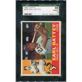 1960 Topps #328 Earl Battey SGC 88 *7002 (Reed Buy)