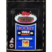 1992/93 Topps Stadium Club Series 2 Hockey Wax Box (Reed Buy)