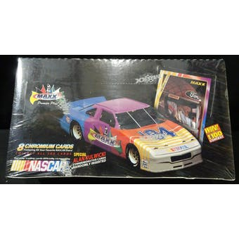 1994 Maxx Premier Plus Chromium Racing Hobby Box (Reed Buy)