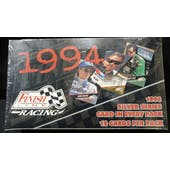 1994 Finish Line Silver Series Racing Hobby Box (Reed Buy)
