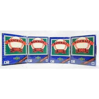 1989 Upper Deck High # Baseball Factory Set (Lot of 4) (Reed Buy)