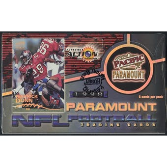 1998 Pacific Paramount Football Hobby Box