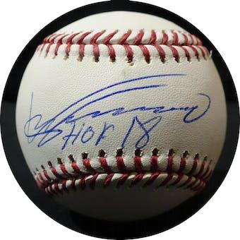 Vladimir Guerrero Autographed MLB Baseball (HOF 18) JSA WPP167420 (Reed Buy)