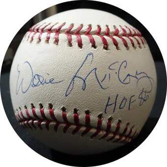 Willie McCovey Autographed MLB Baseball (HOF 86) PSA G50076 (Reed Buy)