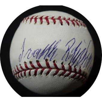 Frank Robinson Autographed MLB Baseball (HOF 82) Steiner (Reed Buy)