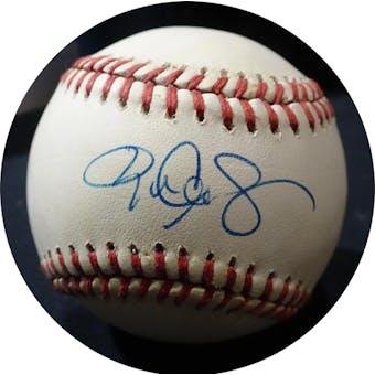 Roger Clemens Autographed AL Brown Baseball JSA KK52530 (Reed Buy)