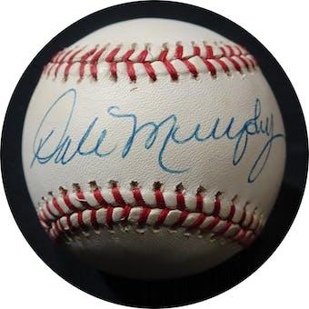 Dale Murphy Autographed NL White Baseball JSA KK52559 (Reed Buy)