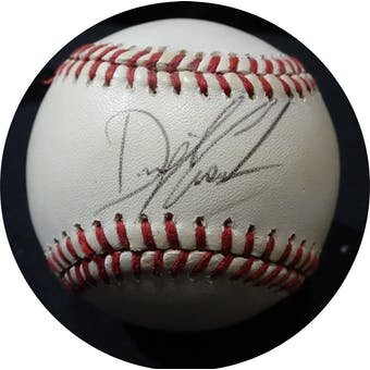 Dwight Gooden Autographed NL Giamatti Baseball JSA KK52577 (Reed Buy)