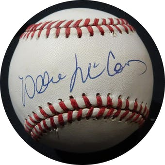 Willie McCovey Autographed NL Giamatti Baseball JSA KK52702 (Reed Buy)