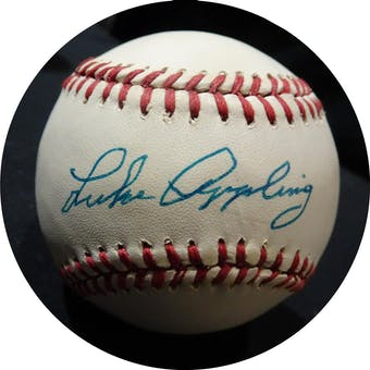 Luke Appling Autographed AL Brown Baseball JSA KK52709 (Reed Buy)