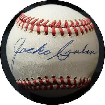 Jocko Conlan Autographed NL Giamatti Baseball JSA KK52505 (Reed Buy)
