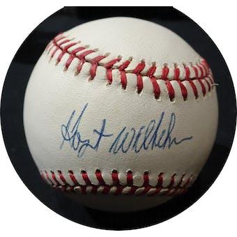 Hoyt Wilhelm Autographed AL Brown Baseball JSA KK52638 (Reed Buy)