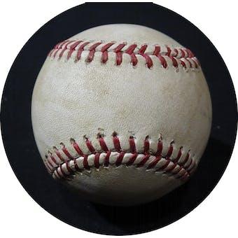 Manny Machado Career Hit 633 Game Used MLB Baseball MLB HZ426964 (Reed Buy)