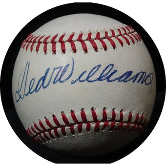 Ted Williams Autographed AL MacPhail Baseball JSA BB42507 (Reed Buy)