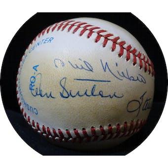 300 Win Club Pitchers Autographed AL Brown Baseball (6 sigs) JSA BB42546 (Reed Buy)