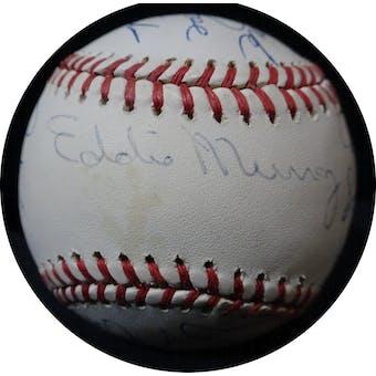 3,000 Hit Club Autographed NL Giamatti Baseball (12 sigs) JSA BB63969 (Reed Buy)
