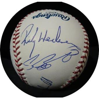 3,000 Hit Club Autographed MLB Baseball (14 sigs) JSA Z11128 (Reed Buy)