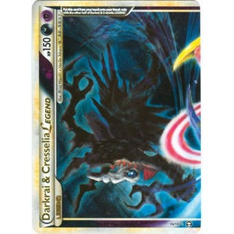 Pokemon Triumphant Single Darkrai & Cresselia Legend (Top) 99/102