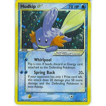Pokemon Team Rocket Returns Single Mudkip * 107/109 - SLIGHT PLAY (SP)