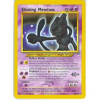 Pokemon Neo Destiny Single Shining Mewtwo 109/105 - LIGHT PLAY