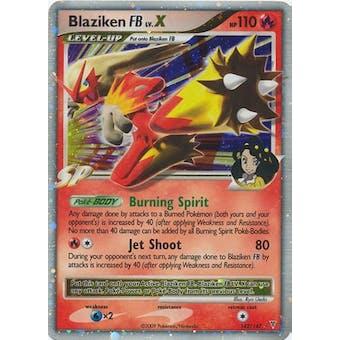 Pokemon Supreme Victors Single Blaziken FB lv. X 142/147 - MODERATE PLAY ( MP)