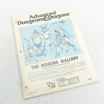 Dungeons & Dragons: The Rogues Gallery (TSR, 1980)