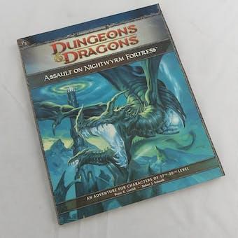 Dungeons & Dragons Assault on Nightwyrm Fortress (WOTC 2009)
