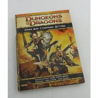 Dungeons & Dragons Dark Sun Campaign Setting (WOTC 2010)