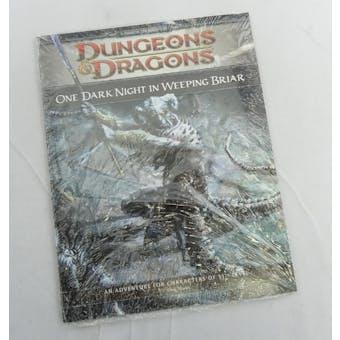 Dungeons & Dragons One Dark Night in Weeping Briar (WOTC 2009) - PROMO