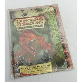 Dungeons & Dragons Lair Assault: Attack of the Tyrantclaw (WOTC 2011) - SEALED