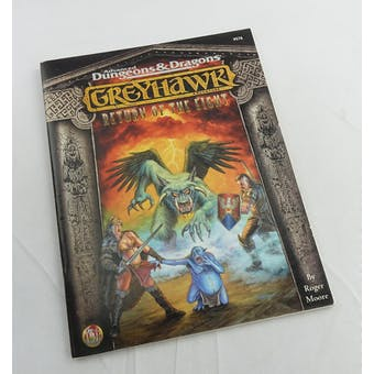 Dungeons & Dragons Greyhawk: Return of The Eight (TSR 1998)