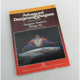 Dungeons & Dragons Dungeon Master's Design Kit (TSR 1988)