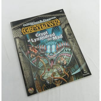 Dungeons & Dragons Greyhawk: Crypt of Lyzandred the Mad (TSR 1998)