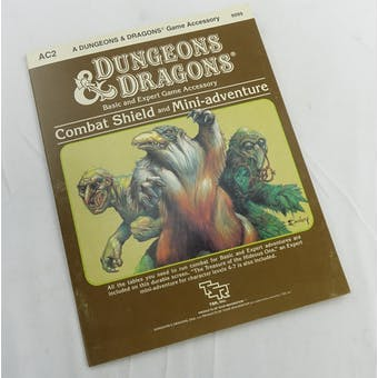 Dungeons & Dragons Combat Shield and Mini-Adventure (TSR, 1984)