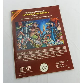 Dungeons & Dragons In Search of the Unknown (TSR, 1979)