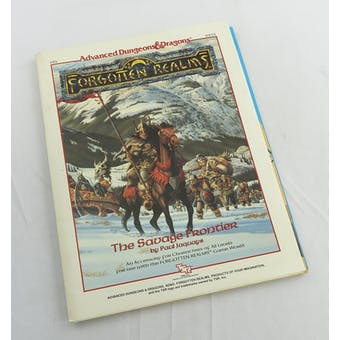 Dungeons & Dragons Forgotten Realms: The Savage Frontier (TSR, 1988)