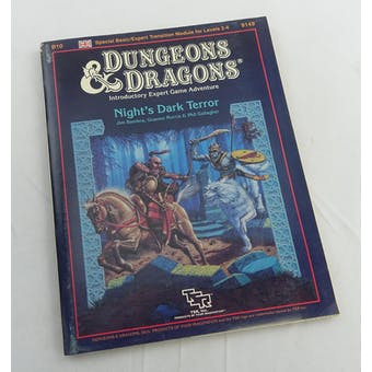 Dungeons & Dragons Night's Dark Terror (TSR, 1986)