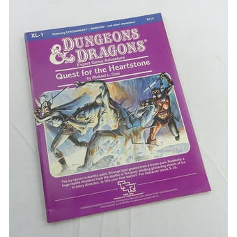 Dungeons & Dragons Quest for the Heartstone (TSR, 1984)