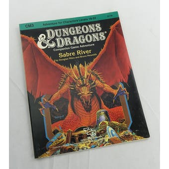 Dungeons & Dragons Sabre River (TSR, 1984)