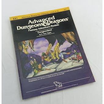Dungeons & Dragons Dungeonland (TSR, 1983)