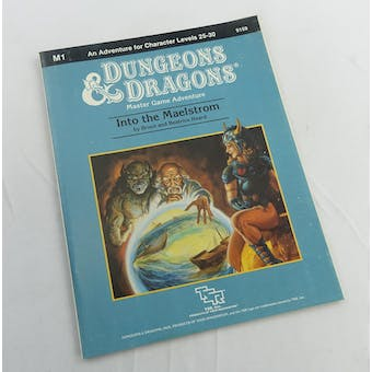 Dungeons & Dragons Into the Maelstrom (TSR, 1985)