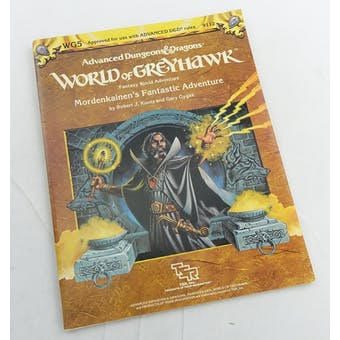 Dungeons & Dragons Mordenkaines's Fantastic Adventure (TSR, 1984)