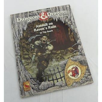 Dungeons & Dragons Assault on Raven's Ruin (TSR, 1992)