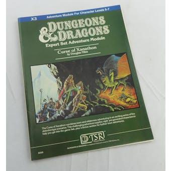 Dungeons & Dragons Curse of Xanathon (TSR, 1982)