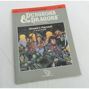Dungeons & Dragons Queen's Harvest (TSR, 1989)