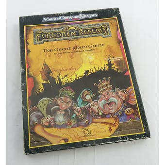 Dungeons & Dragons Forgotten Realms: The Great Khan Game (TSR, 1989)