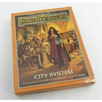 Dungeons & Dragons Forgotten Realms: City System (TSR, 1988)