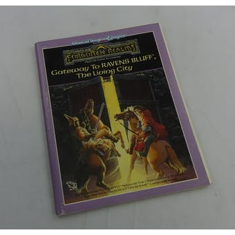 Dungeons & Dragons Gateway to Ravens Bluff, the Living City (TSR, 1989)