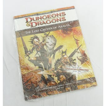 Dungeons & Dragons The Lost Cistern of Aravek (WOTC, 2010) -SEALED